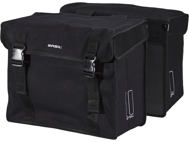 Basil Kavan XL Double Pannier Bag 65l, black